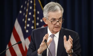 Jerome Powell, the Federal Reserve chair. The central bank declined to signal if it would continue to drop interest rates in the future.