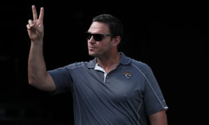 Tony Boselli during an appearance at the Jaguars in 2017