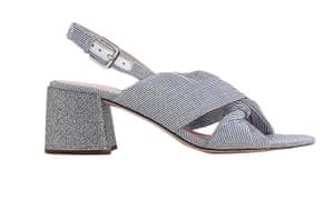 Glitter heel, £158, jcrew.com