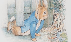 Beatrix Potter's The Tale of Peter Rabbit contains 'unexpected, wonderful' words.