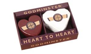Heart cheese gift pack, £17.45godminster.com