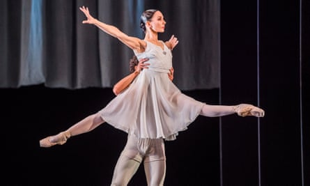 Tamara Rojo performs with the English National Ballet at Sadler's Wells in 2017.