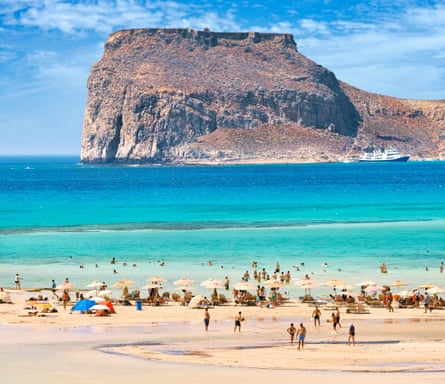 Balos Beach, Gramvousa Peninsula, Crete, Greek Island