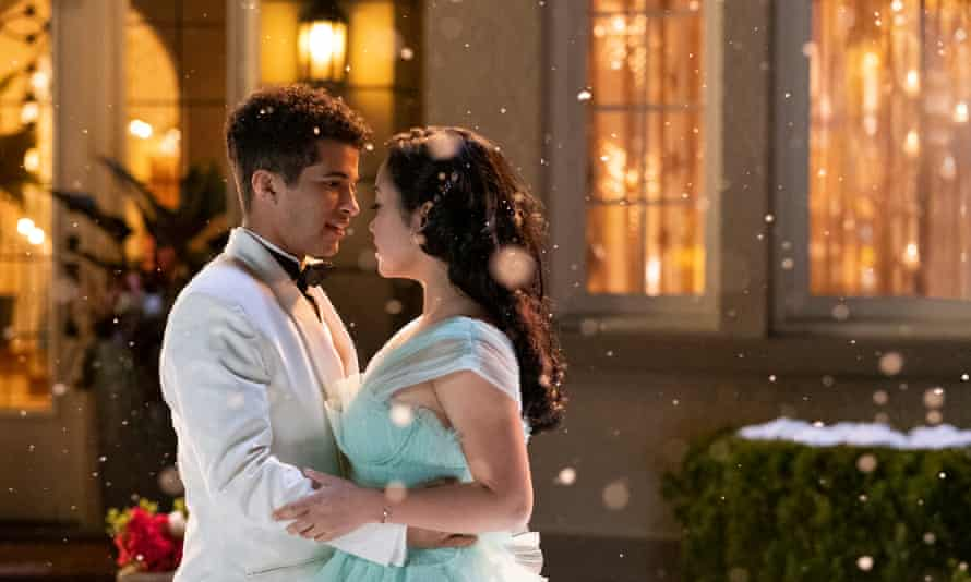 Jordan Fisher and Lana Condor in To All the Boys: PS I Still Love You.