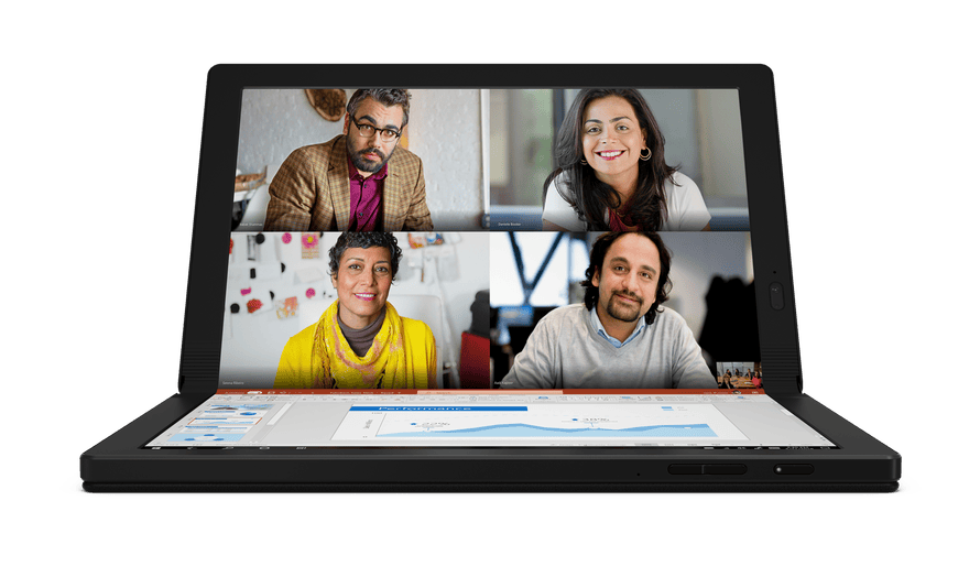 Lenovo's ThinkPad X1 Fold will be one of the first folding Windows 10 tablets available to buy later this year.