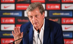 Roy Hodgson speaks during a press conference on June 28, 2016 in Chantilly, France.