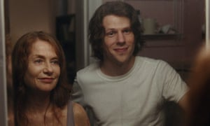 Isabelle Huppert and Devin Druid in Joachim Trier's Louder Than Bombs.