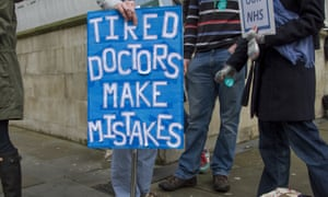 Junior doctors strike and protest, London