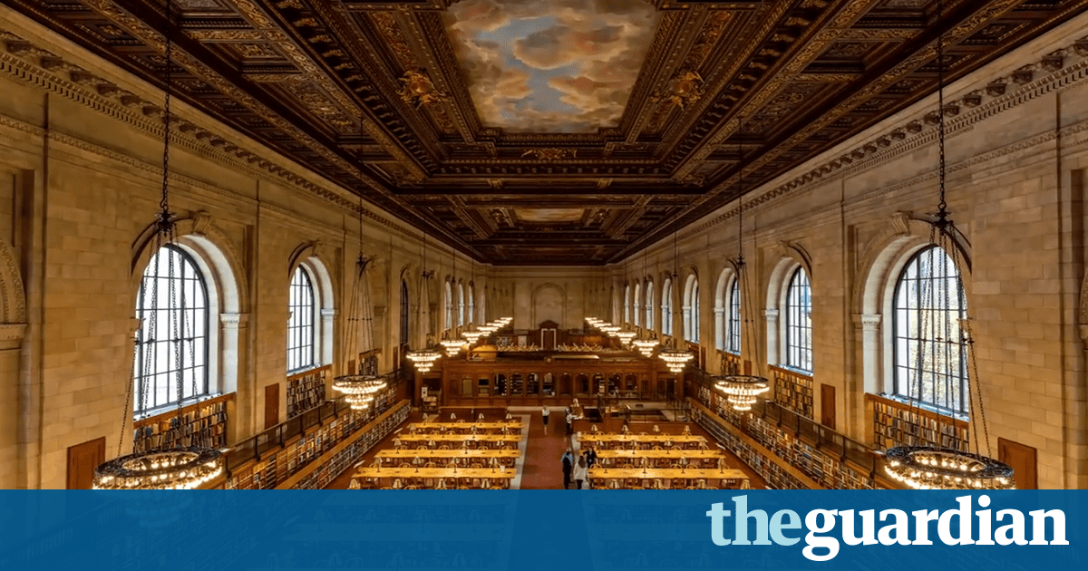 Watch 52,000 books reshelved in two minutes at New York public library – timelapse video
