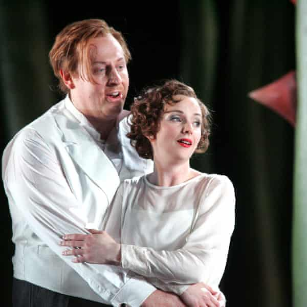 Iain Paterson and Sarah Tynan in The Marriage of Figaro.