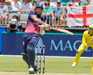 England's Alex Hales bats during the fifth ODI against Australia earlier this year.