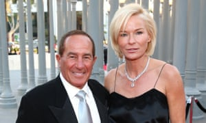 Geoff and Anne Palmer at a Los Angeles County Museum of Art gala