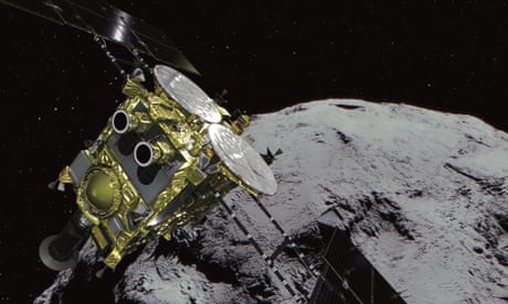 After six years and 6bn km, Japan's Hayabusa2 prepares to bring home cargo of asteroid dust