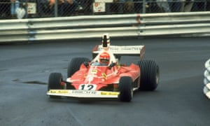 Niki Lauda, in his Ferrari 312T, turned round a slow start to the season to finish first in Monte Carlo.