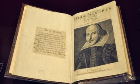 The 100 best nonfiction books: No 97 – The First Folio by William Shakespeare (1623)