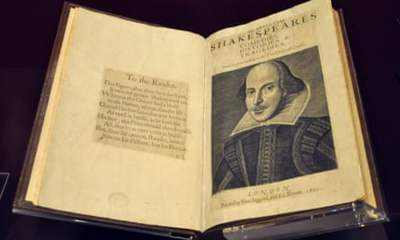 First Folio (Mr William Shakespeare's Comedies, Histories & Tragedies), London 1623