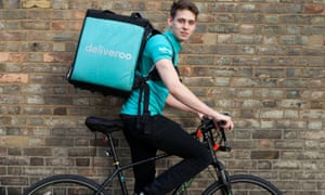 Former Deliveroo rider Nathaniel Shaughnessy