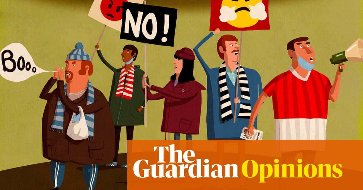 Football fan protests are a positive, legitimate response to deeper discontent | Barney Ronay