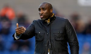 Sol Campbell saw his side give away a two-goal lead.
