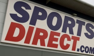 The Sports Direct headquarters in Shirebrook, Derbyshire.