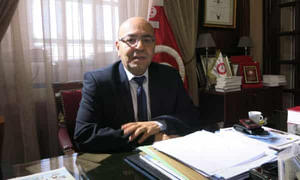 President of the Tunisian Bar Association, Fadhel Mahfoudh