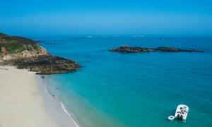 Belvoir Bay, Herm, Channel Islands, United Kingdom, Europe