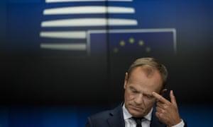 Donald Tusk, president of the European council.