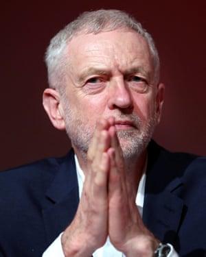 Labour party leader Jeremy Corbyn.