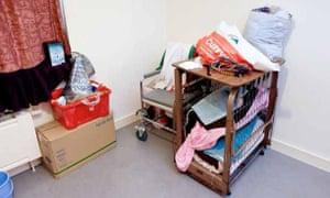 Items in Fran's bedroom.