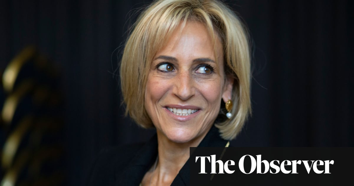 Emily Maitlis: 'People see conspiracy at the BBC  when it's just a confluence of cock-ups'