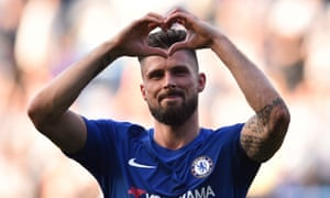 Olivier Giroud says Chelsea have more energy and hope thanks to their victory over Liverpool.