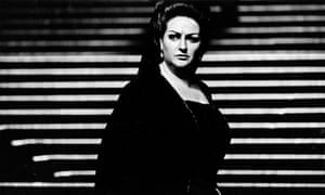 Operatic soprano Montserrat Caballé performing I Vespri Siciliani in 1974