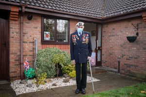 Seymour 'Bill' Taylor, 95, from Colchester in Essex, who served as an able seaman in the Royal Navy onboard HMS Emerald during the D-day landings