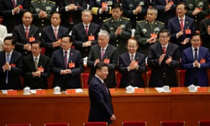 Chinese President Xi Jinping arrives for the opening of the 19th National Congress of the Communist party of China at the Great Hall of the People in Beijing