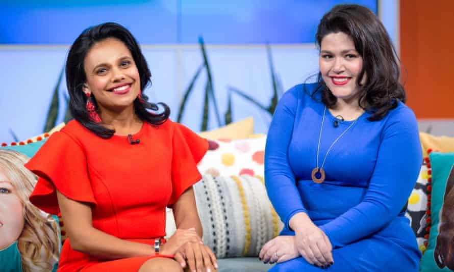 Miranda Tapsell and Nakkiah Lui in Get Krack!n's final episode for season 2