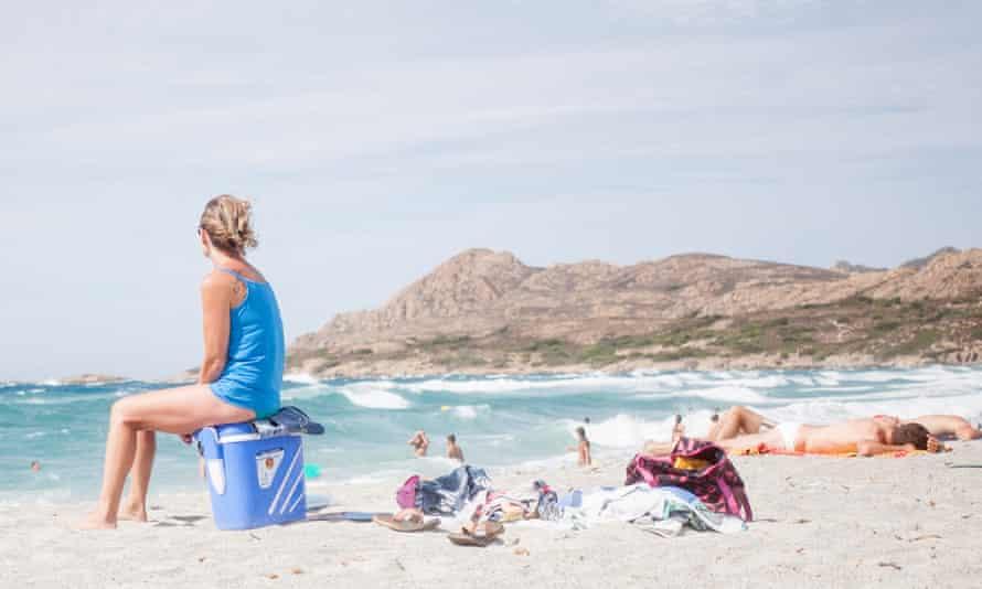 Lozari beach in Corsica