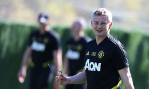 Ole Gunnar Solskjær said Odion Ighalo will travel with Manchester United for Monday's game against Chelsea.