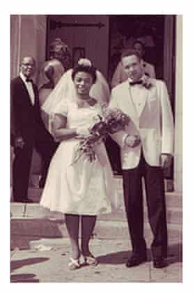 Ringgold's wedding to Birdie, 1962.