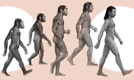 Human evolution has not been a neat or linear process.