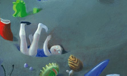 A detail from an illustration in Elena Ferrante's new children's book, The Beach at Night.