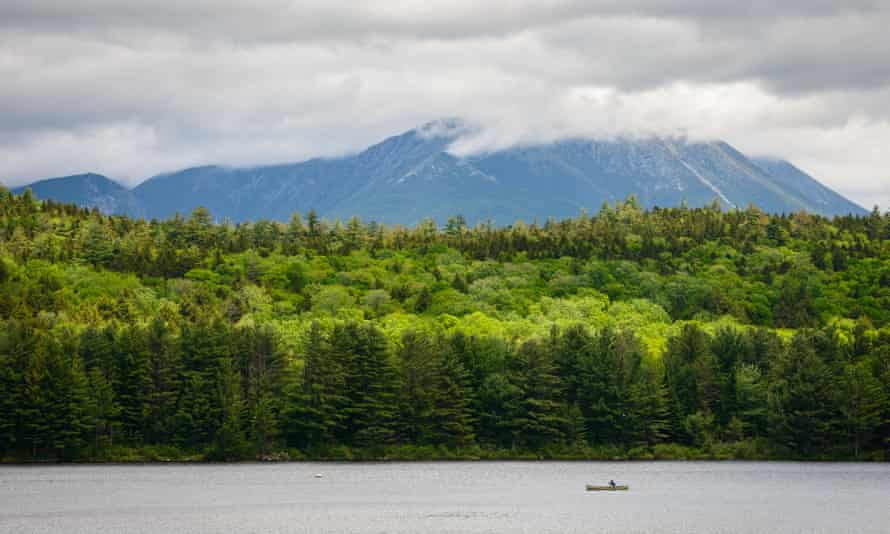 The Katahdin Woods and Waters national monument in Maine.