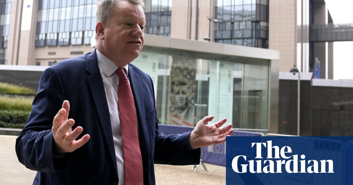 Frost says there is big gap between UK and EU at Northern Ireland Brexit talks