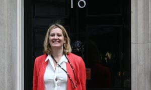 Amber Rudd, the new energy and climate change secretary.