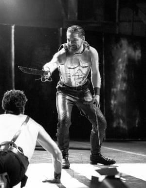 Kenneth Branagh as Coriolanus