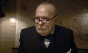 Gary Oldman as Winston Churchill. 'Listening to the original, I was struck by Churchill's flat delivery.'