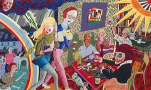 Grayson Perry's Expulsion From Number 8 Eden Close (detail).