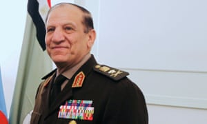 Egypt's former chief of staff Sami Anan pictured in March 2011.