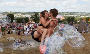 Love is the bubble at the Stone Circle.