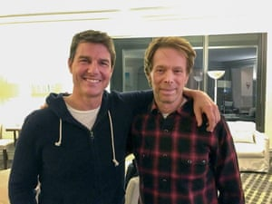 Tom Cruise, 53, and Jerry Bruckheimer, 70, swap placenta-eating tips.