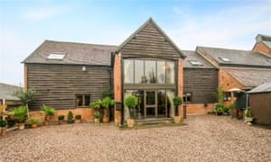 Home and away in Broadwas, near Worcester, Worcestershire